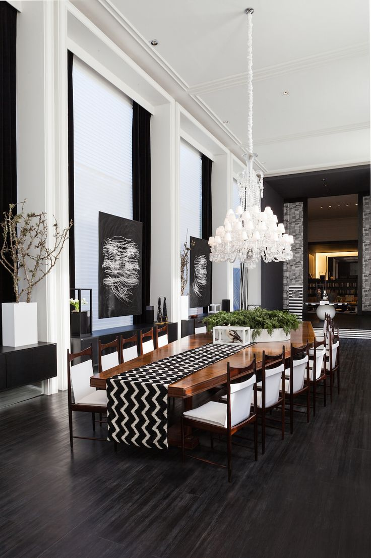 Black luxury dining room 2017 2018 best cars reviews for Black dining room ideas
