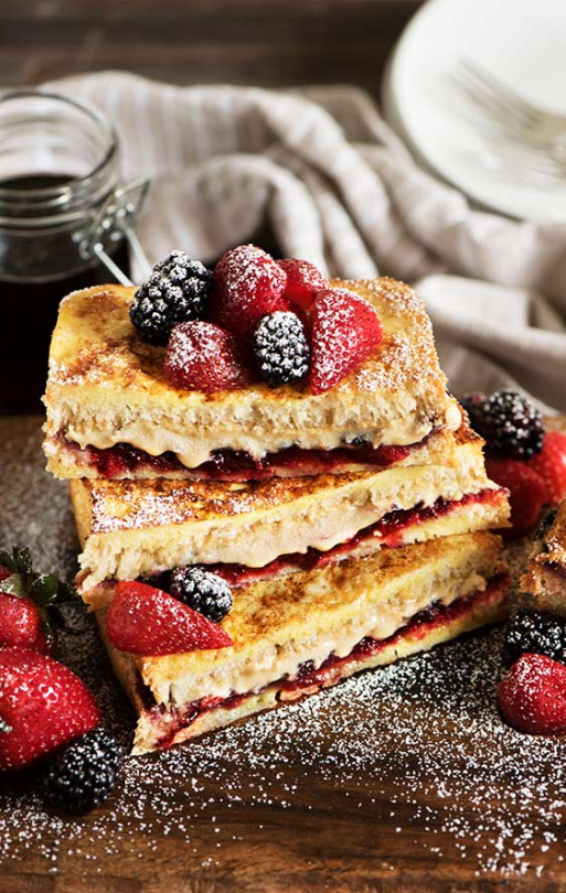 ... french toast fluffy french toast french toast with berry butter the