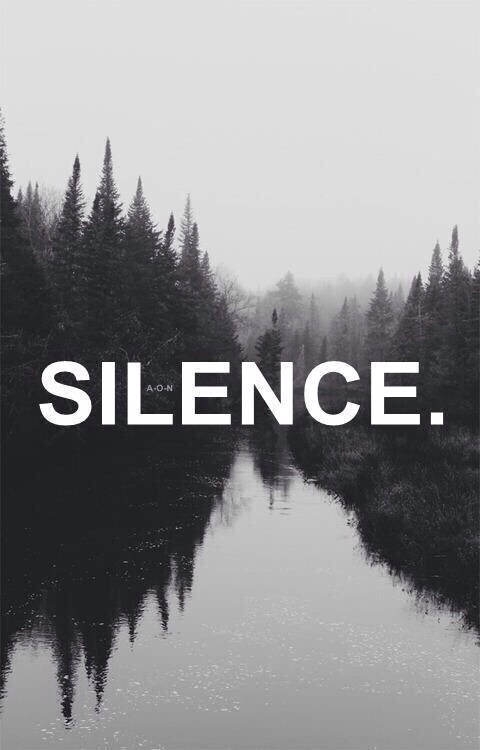 quotes about silence tumblr - photo #13