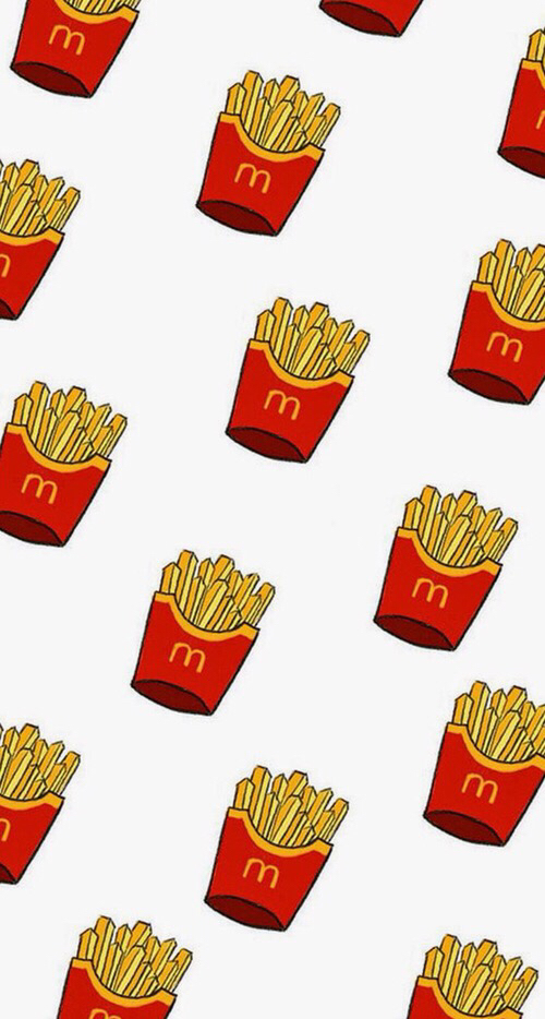 beautiful, delicious, food, fries, mc donalds, mosaic, wallpapers