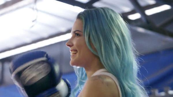 Halsey In Blue Colored Hair: Twitter - Image #3244820 By