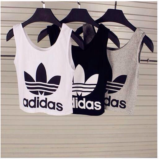 adidas black black and white chic classe clothes