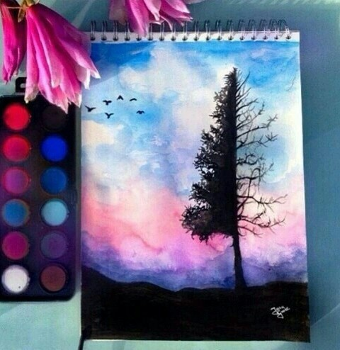 art, colorful, cool and cute