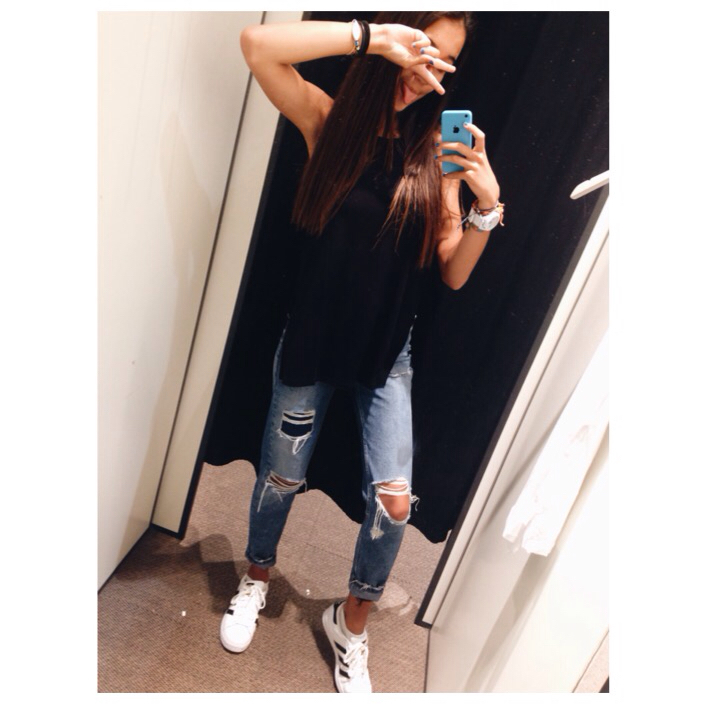 online retailer 55e19 c3021 adidas, black, fashion, outfit, site model, style, superstar, tumblr, tumblr  girl, adidas superstar, ootd