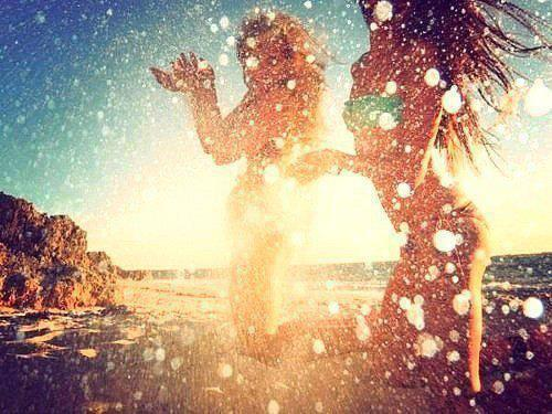 friends, love, sea and summer