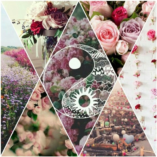 girly collage wallpaper - photo #34