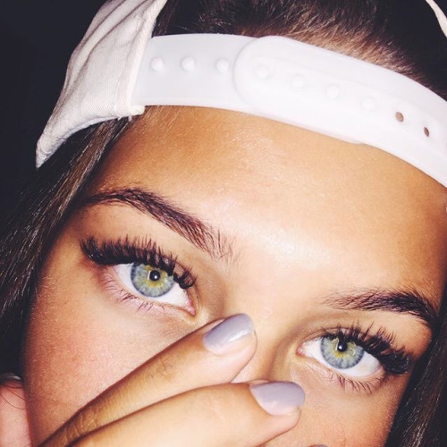 blue eyes, blur, cool and eyebrows