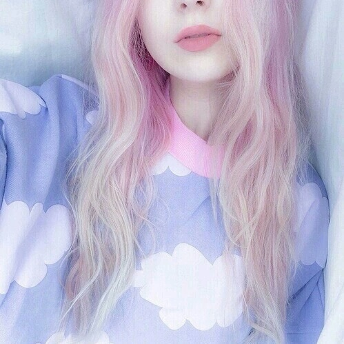 bleu, exo, kpop, style, cool, Pretty, girl's ^^ (#all, about the, girl's ), fx /, snsd /#hair, pony, red, cute, pink