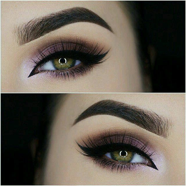 beautiful, beauty, black eyeliner and brows