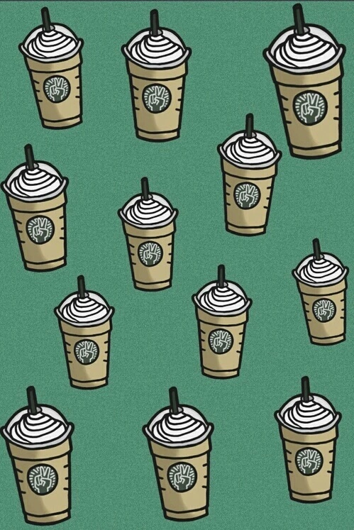 Très Starbucks wallpaper Get me to 100 followersss - image #3521031 par  TG57