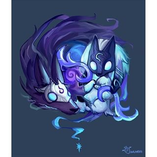 lamb, league of legends, wolf, new champion, kindred