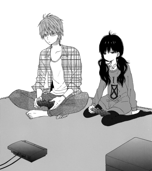 Anime Couple Playing Video Games Download