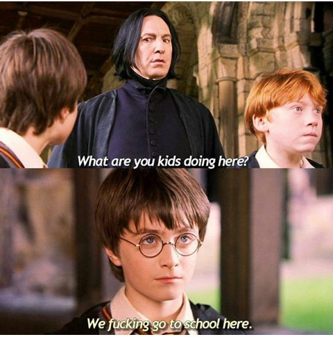 fun, ron weasley, snape, ️harry potter, . lol