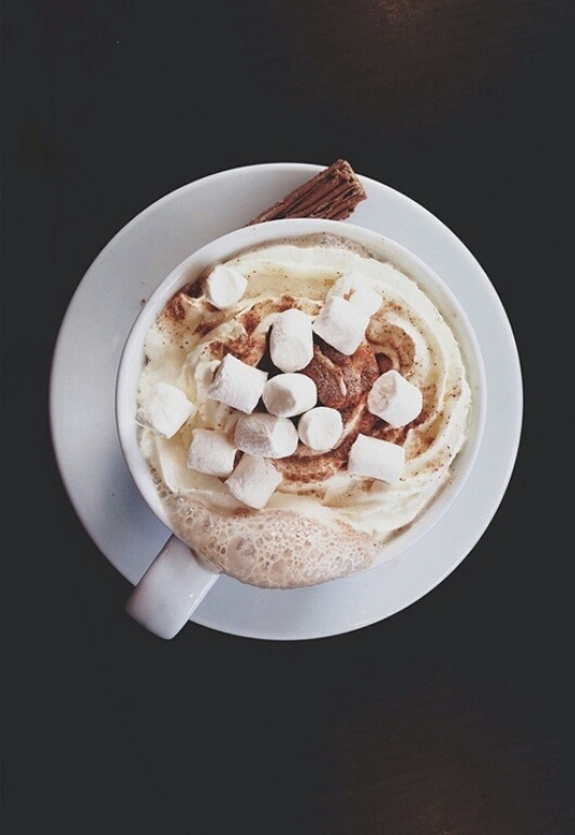caffe, chocolate, delicious, hotchocolate, love, perfect, sweets ...