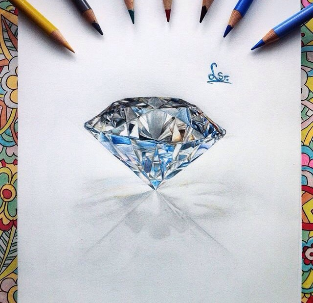 The Best Diamond Drawing