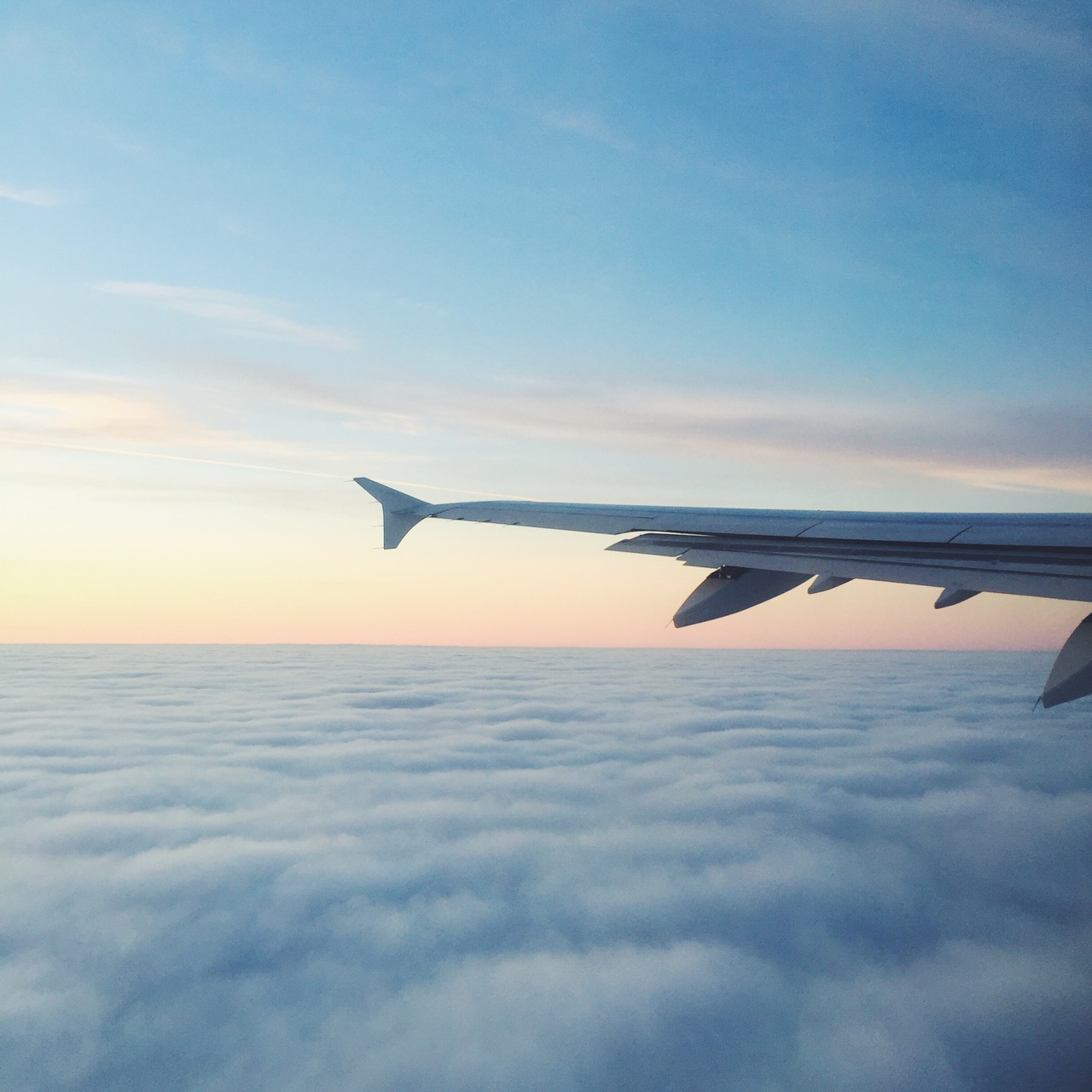 air, airplane, beautiful, clouds, flying, travel, traveling, view