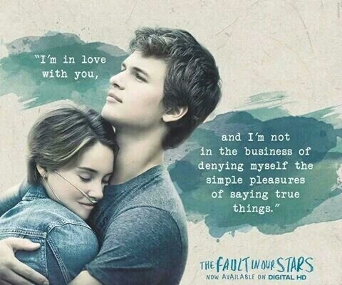 gus, hazel grace, love, movie, quotes - image #3627751 by ...