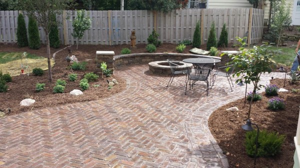 Recycled attractive brick patio recycled things image 3761671 by recycledthings on - Reclaimed brick design ideas ...