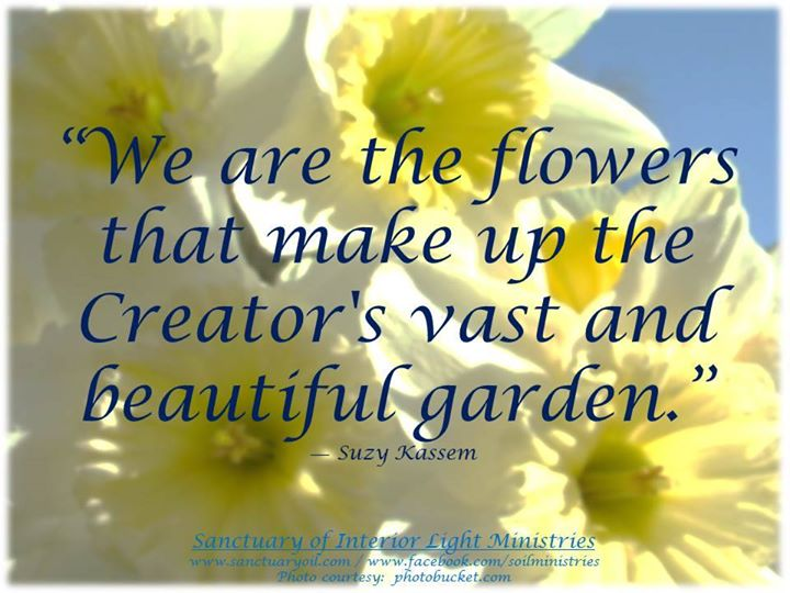 flowers, garden, humanity and sayings