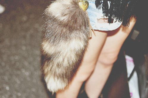 accessory, chain, denim, fashion, fur, key ring, photography, pretty, scarf, shorts
