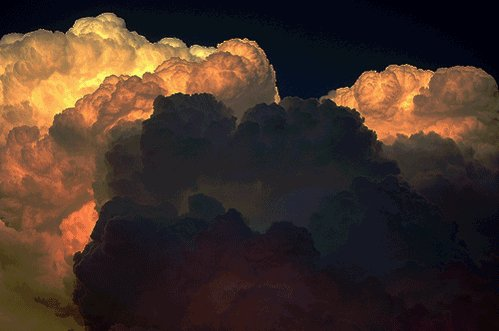 animated, art, beaitufl, cloud, gif