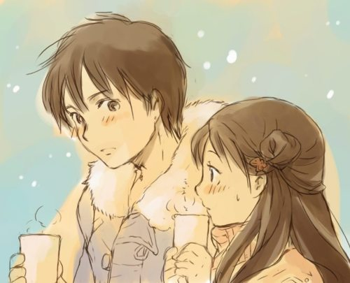 anime, kimi ni todoke, sawako, separate with comma