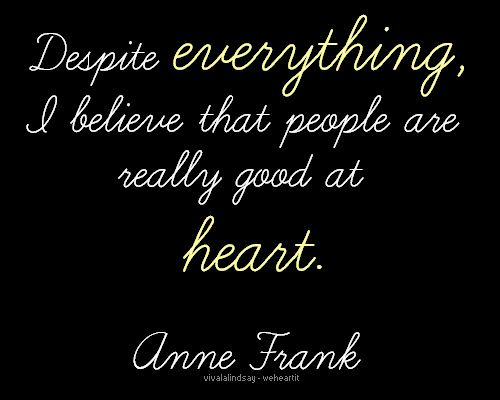 anne frank, love, quote
