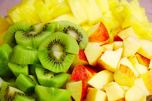 apples, delicious, food, fruit, juicy, kiwi
