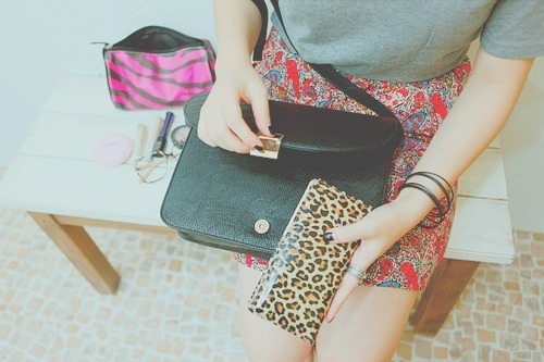 bag, bracelets, cute, fashion, floral