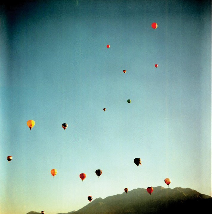 balloons, beautiful, colorful, fly, lomography