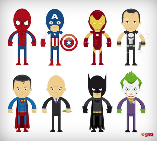 batman, chibi, comic, cute, ironman