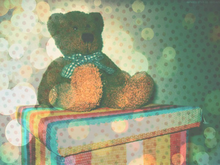 bear, bokeh, chid, child, cute