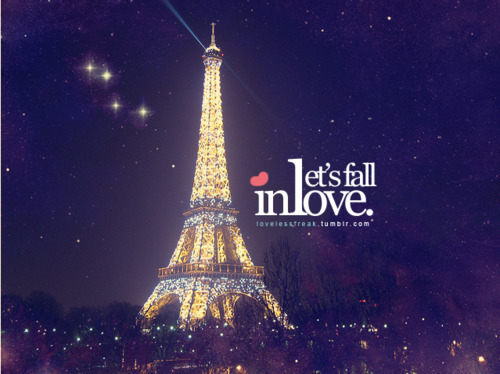 beautiful, eiffel tower, lights, love, night - image ...