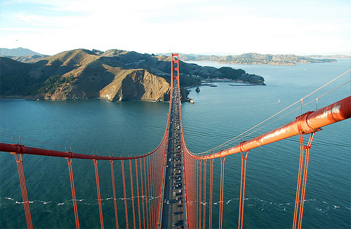 beautiful, golden gate bridge, landscape, photography, san fran