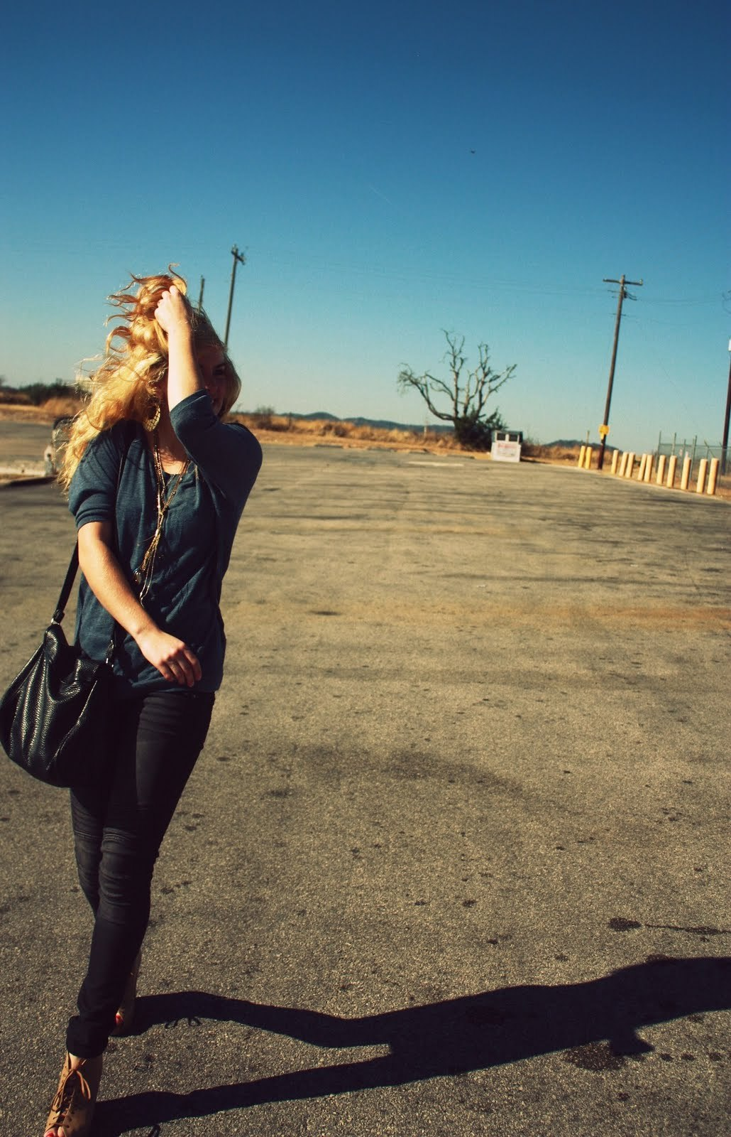 beautiful weather, blonde, fake blonde, fashion, girl