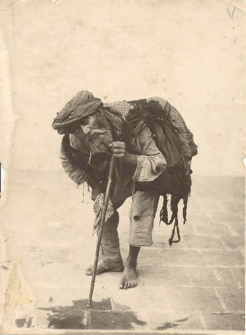 black and white, man, nomad, rags