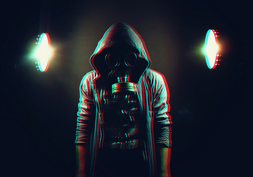 boy, gasmask, photo, photography