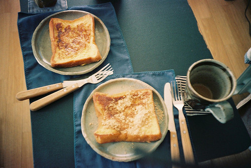 breakfast, coffee, delicious, food, french toast