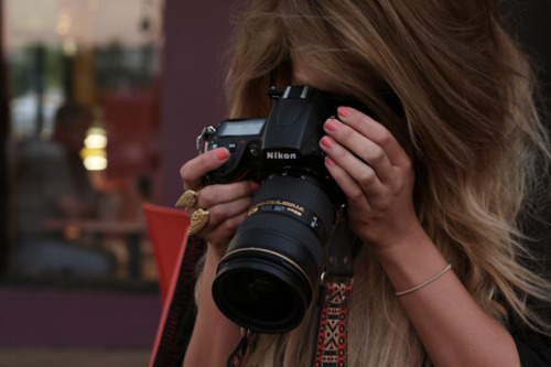 camera, fashion, girl, hair, nikon