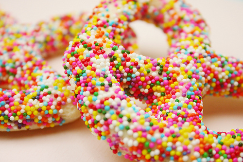 candy, colorful, delicious, food, pretzel