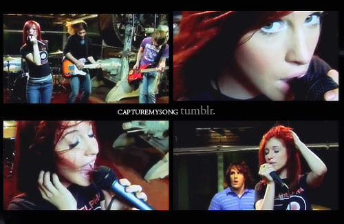 captures, cute, fashion, hair, hayley williams, music, music video, paramore, pressure, rock, screencaps, video