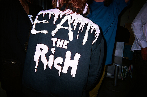clothes, eat the rich, fashion, funny, handmade t-shirt, lol, shirt, style, t-shirt, tee, zombie