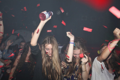 cool, dance, girls , party, vitamin water