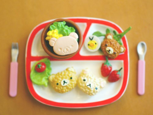cute, food, kawaii, photography, rilakkuma