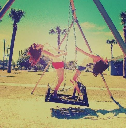 fun, girls , park, summer