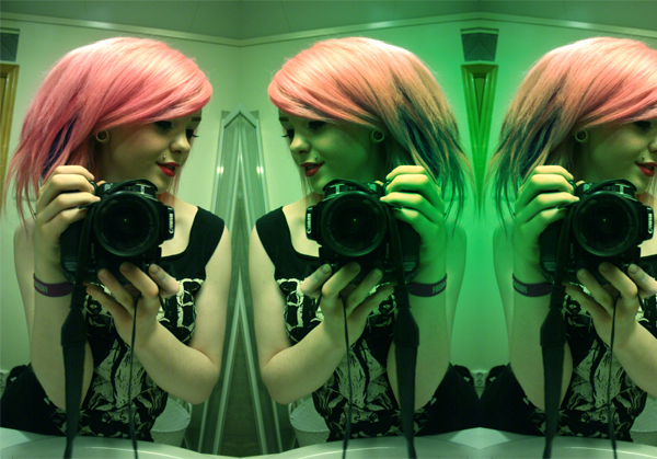 hair, linnea, photo, pink, pink hair
