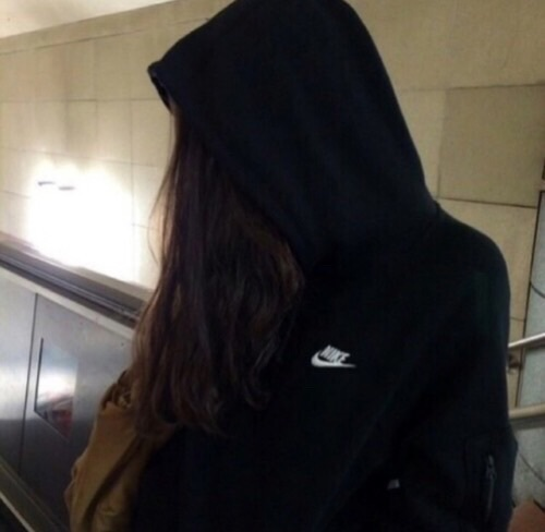 girl, nike, sad, swag, tumblr - image #3835601 by ...