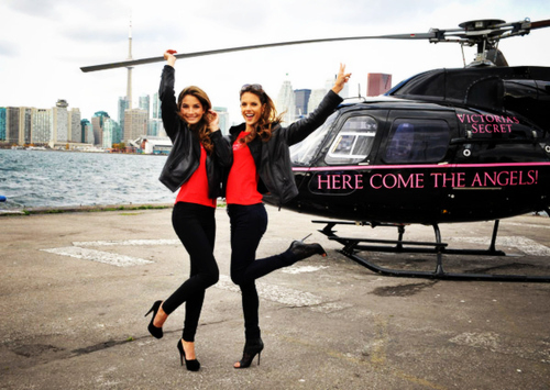 alessandra ambrosio, fashion, girl, heels, helicopter, lily aldridge, luxury, model, victorias secret