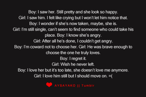 a sad story of boy and girl with meaningful relationship
