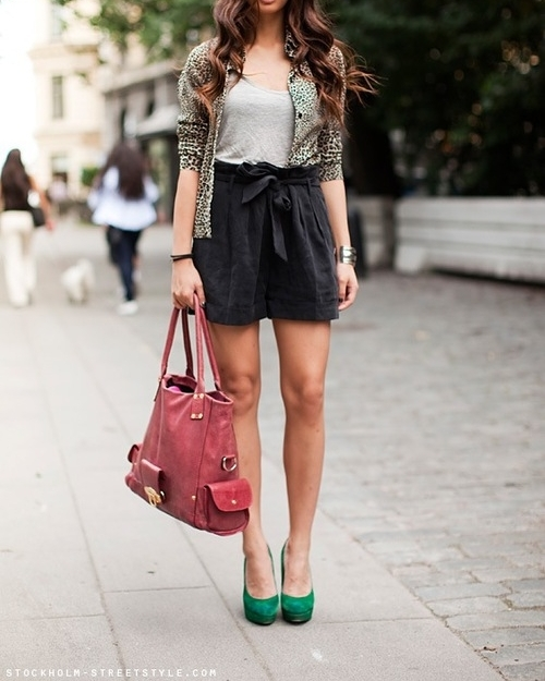 bag, fashion, girl, hair, heels, outfit, shoes, skirt
